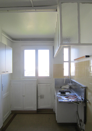 sara camus bouanha architecte d'intérieur Paris, rénovation complète d'un appartement de 70m2 dans une résidence des années 1970 à Noisy le sec
